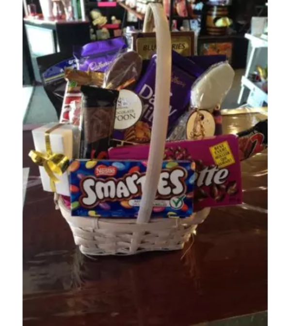 Chocolate and Treats Basket