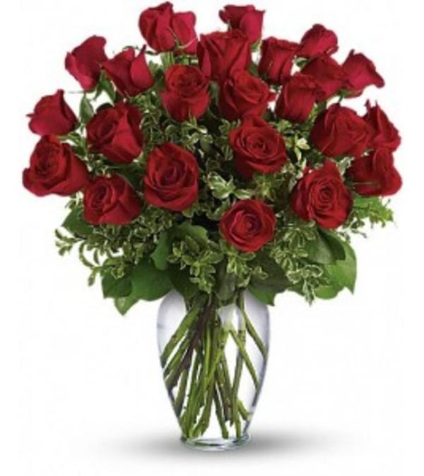 Long Stemmed Red Roses- always on my mind