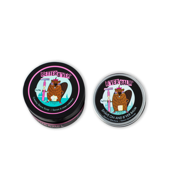 B'ver Shave Cream & Balm Duo