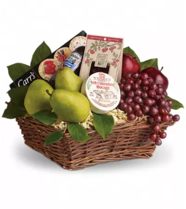 Delicious Delights Basket by Teleflora