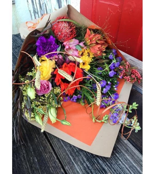 Custom Designed Hand Tied Bouquet