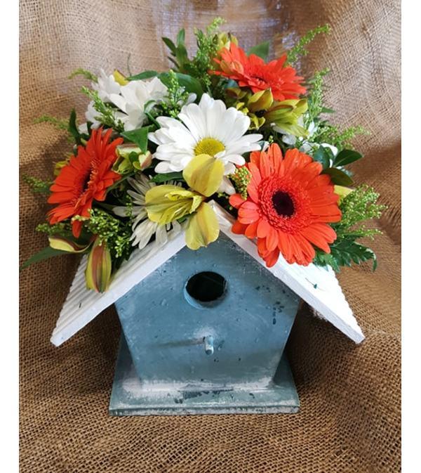 Spring Garden Birdhouse