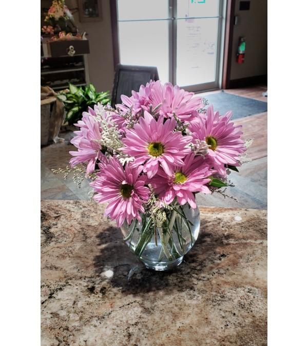 Lavender Daisy Bowl