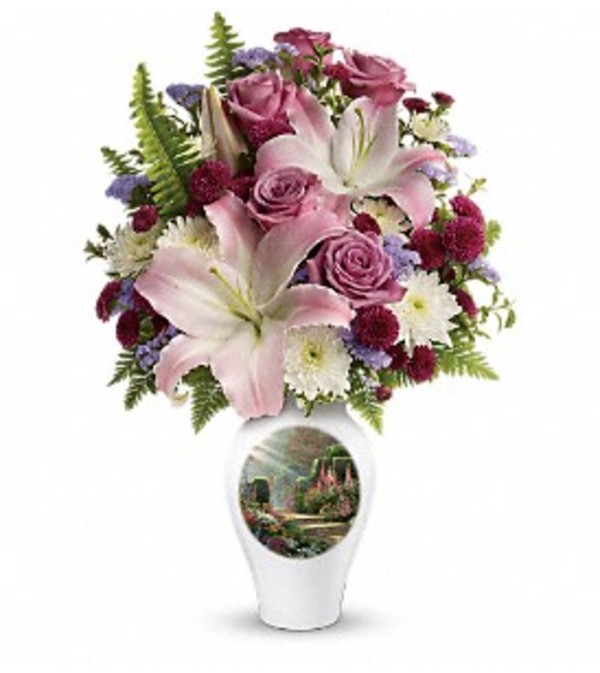 Thomas Kinkade's Moments Of Grace - Teleflora