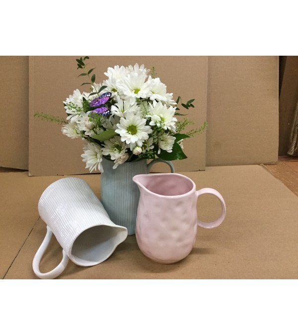 Pitcher Perfect Daisies for Mom