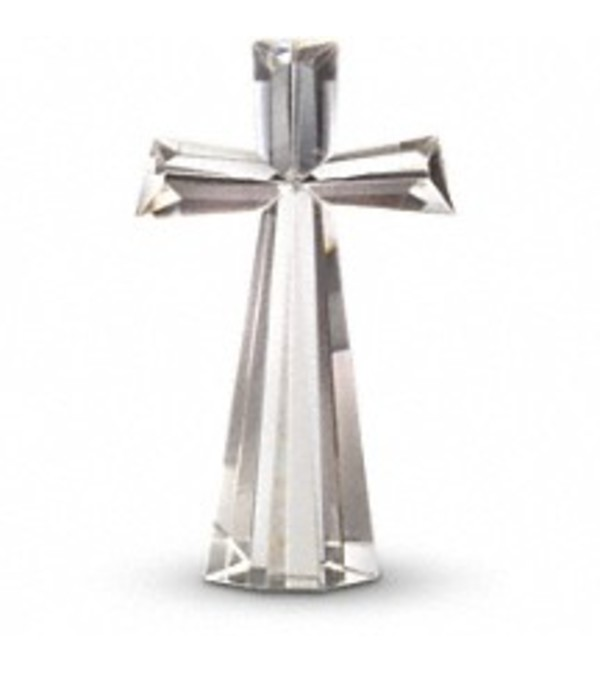 "Crystal Cross 11""  Tall  (Large)"