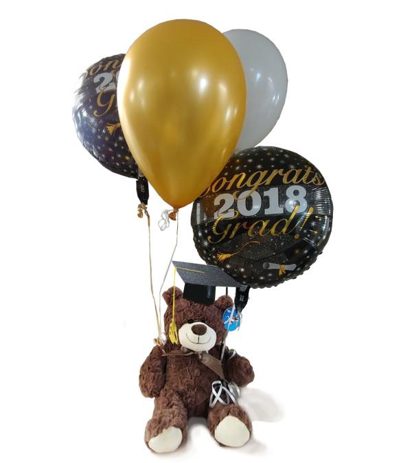 The Bear & Balloons Grad