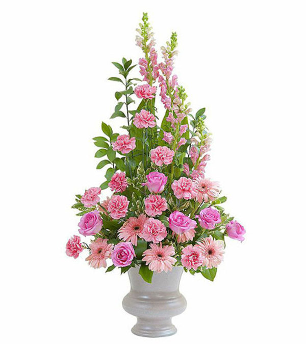 Teleflora - Peaceful Pink Large Urn