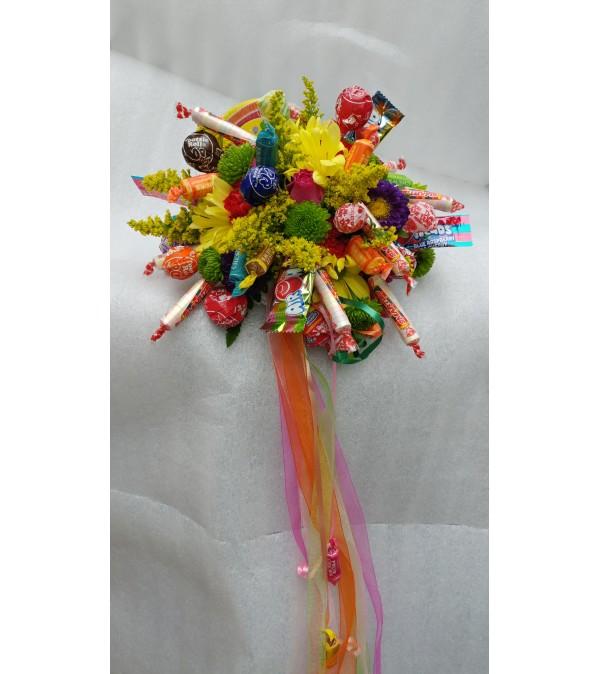 Dance Recital Candy Bouquet