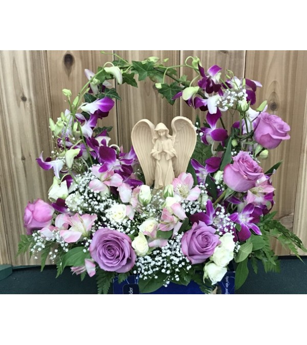 Praying   Angel Arrangement