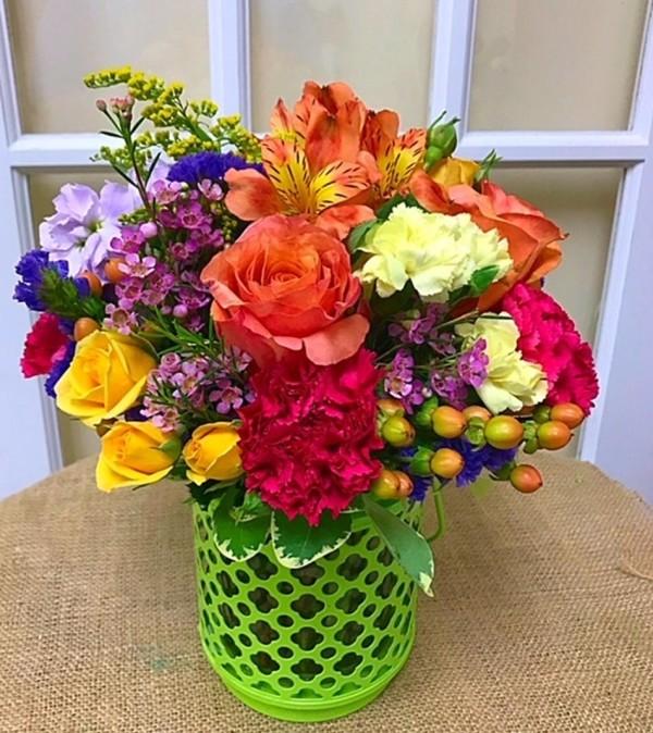 Color Her Happy Bouquet