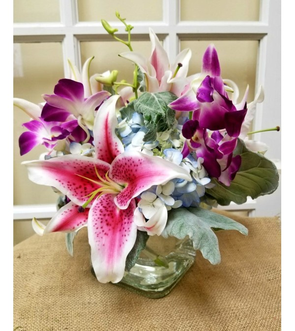 Lily & Orchid Delight Bouquet