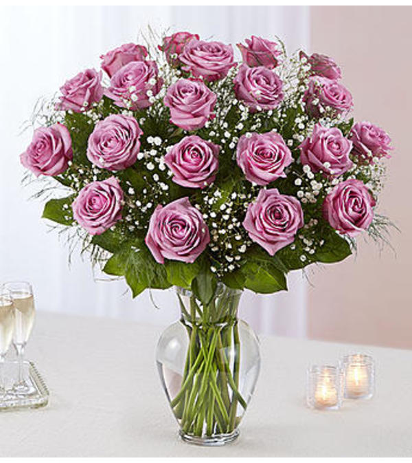 Lavender Roses Two Dozen