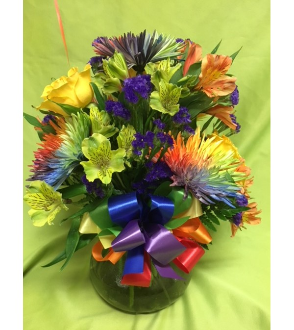 OVER THE RAINBOW BOUQUET