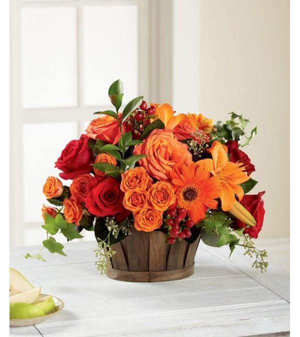 Nature's Bounty Basket Bouquet