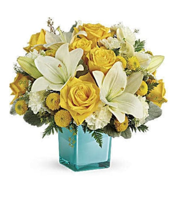 Golden Laughter Bouquet