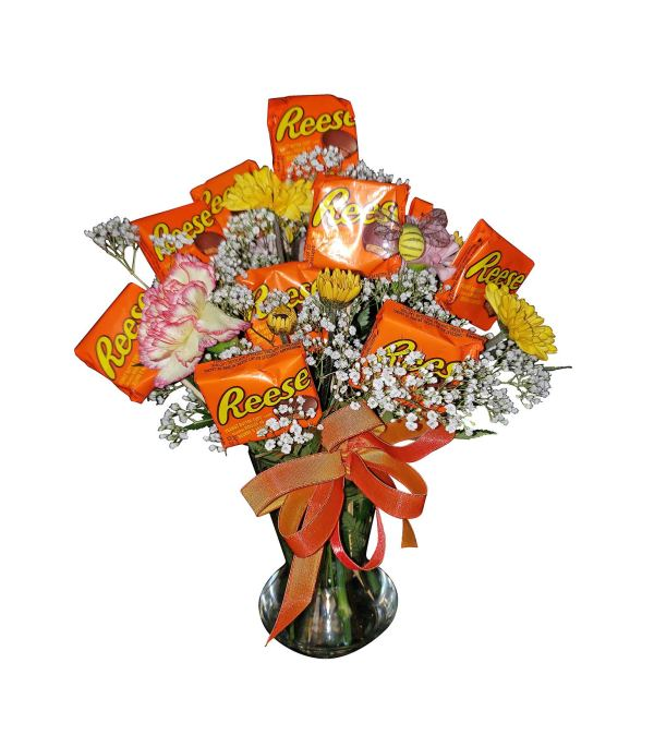 Flowering Candy Arrangement