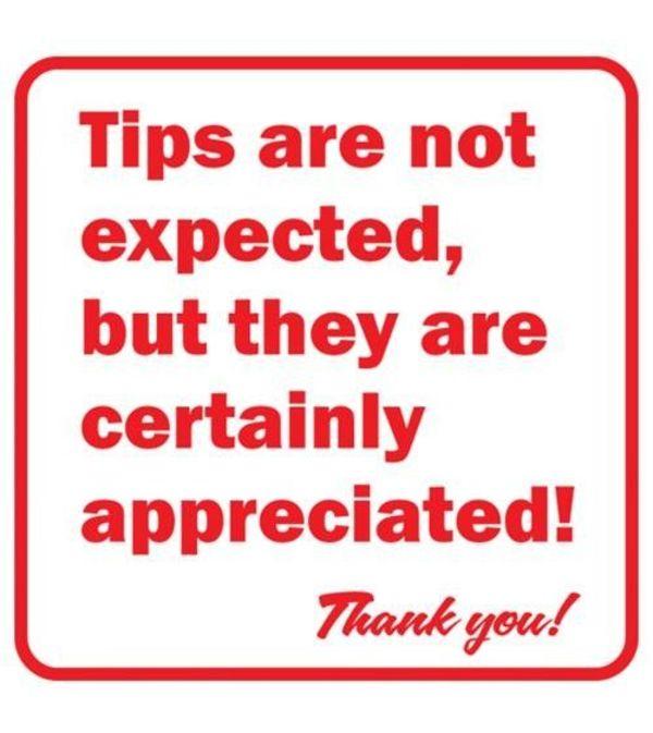 Tip/Gratuity