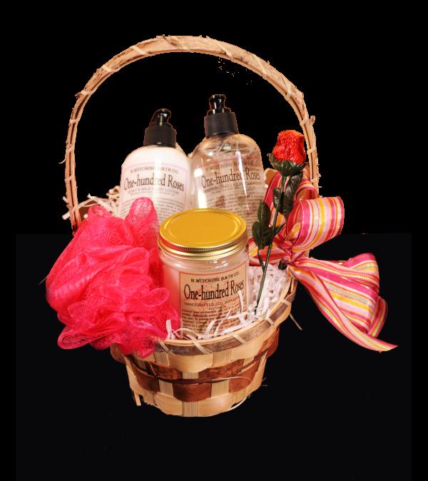 Rose Romance Spa Basket