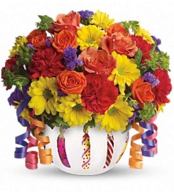 A Brilliant Birthday Bouquet!
