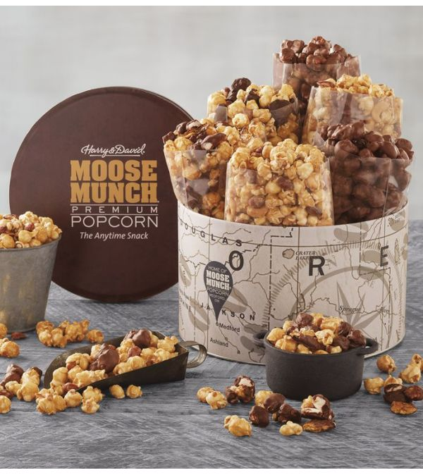 Harry & David Moose Munch Popcorn Sampler