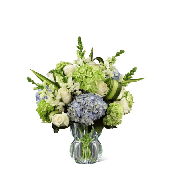 Superior Sights Luxury Bouquet - Blue & White