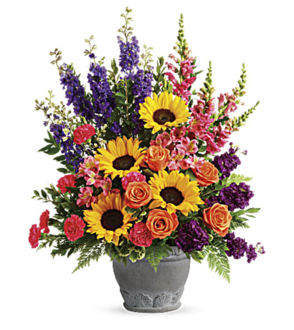 Hues Of Hope Bouquet by Teleflora