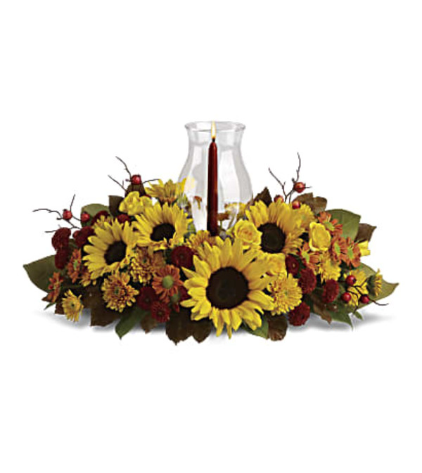 The Sunflower Centerpiece