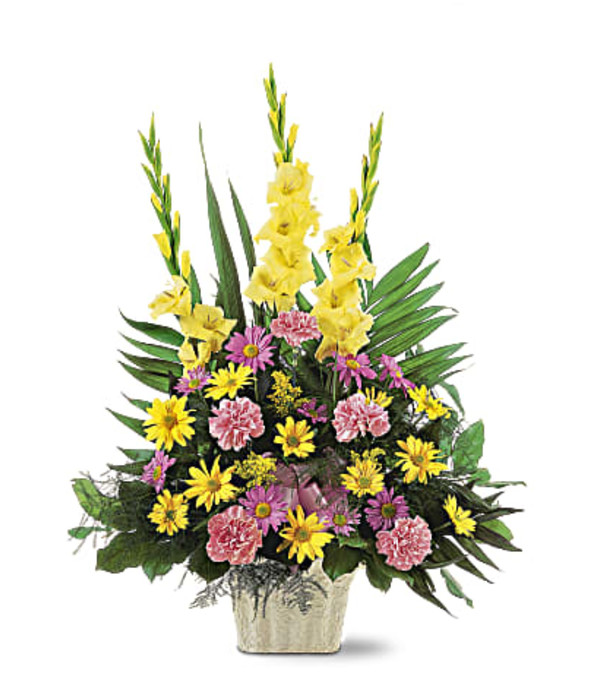 Warm Thoughts Arrangement by Teleflora