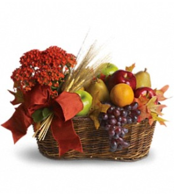 Fresh Picked Basket by Teleflora Flowers