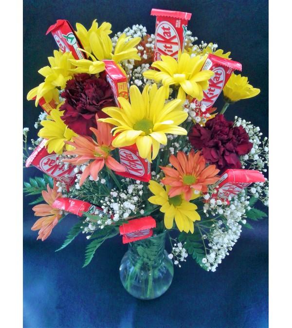 Flowering Candy Arrangements