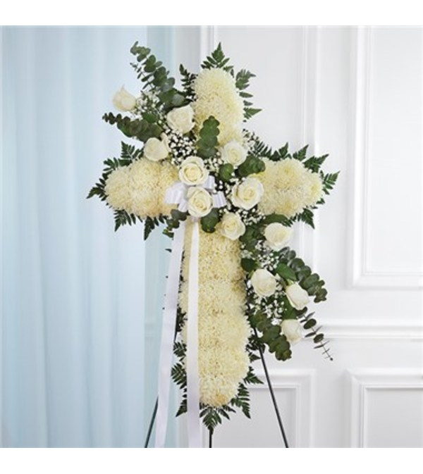 Standing Cross White