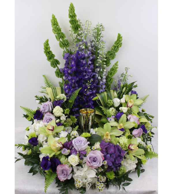Cremation Urn Holder-Lavender