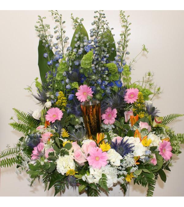 Cremation Urn Holder-Pastel