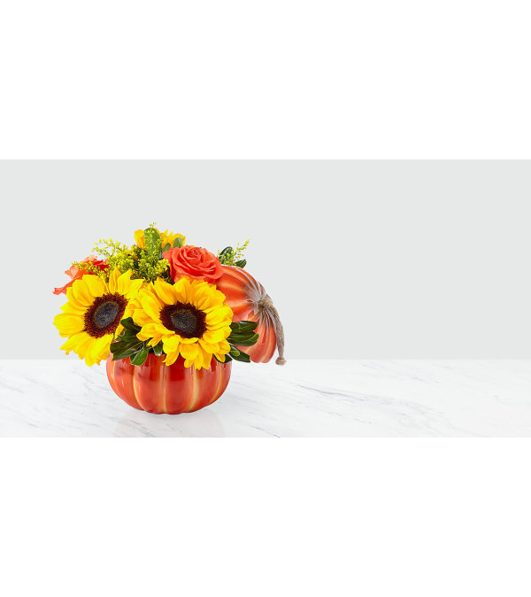 Fall Pumpkin Bouquet