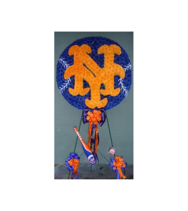 CUSTOM NY METS BALL