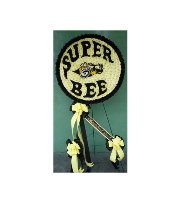 CUSTOM DODGE SUPER BEE LOGO