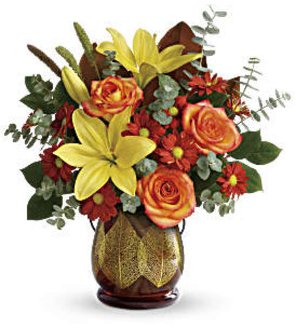 Citrus Blooms Bouquet