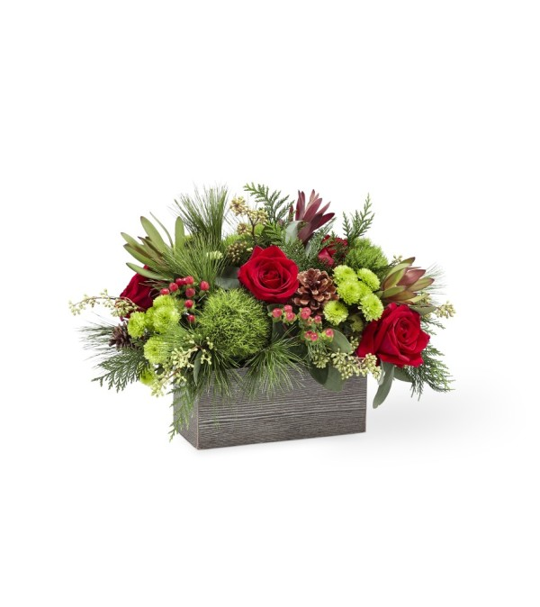 TCG FTD's Christmas Cabin Bouquet