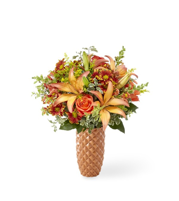 TCG FTD's Warm Amber Bouquet