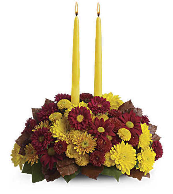 Harvest Happiness Centerpiece  T168-2