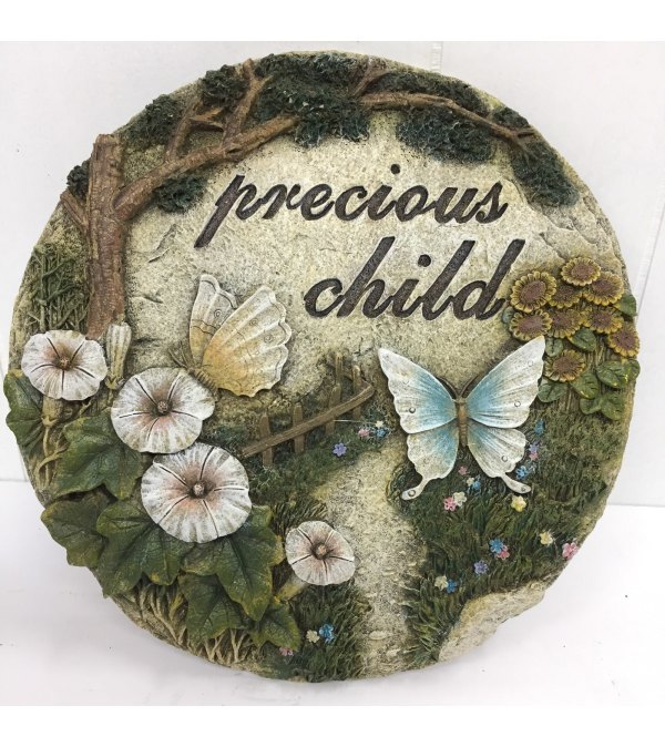 Precious Child Stepping Stone Plaque