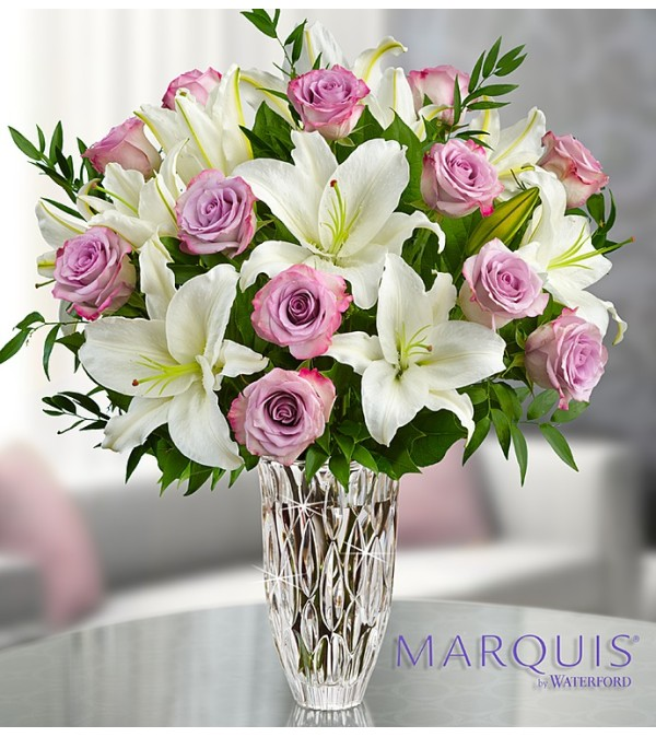 The Marquis by Waterford Purple Rose & Lily