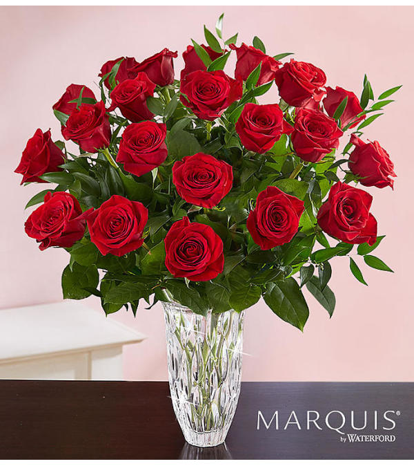 The Marquis by Waterford Premium Red Roses