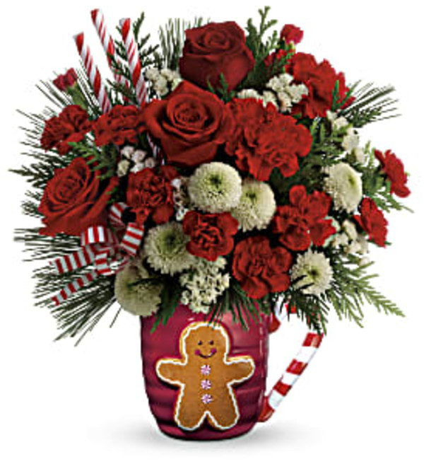 Send A Hug Winter Sips Bouquet T18X500