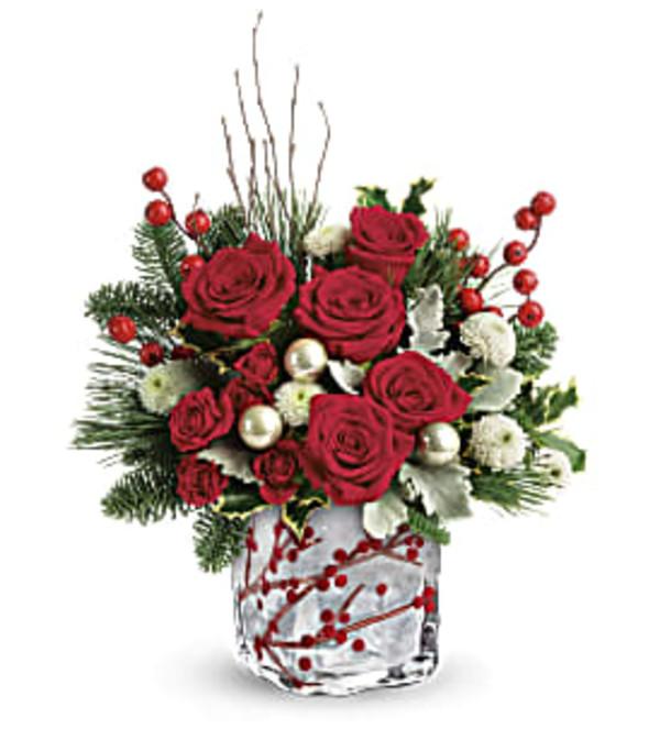 Winterberry Kisses Bouquet T18X600