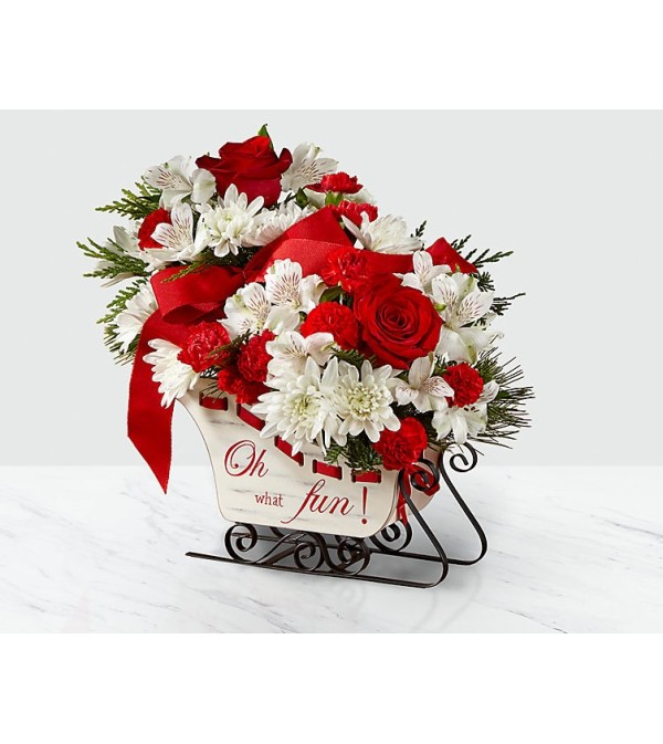 FTD Holiday Traditions Bouquet 2018
