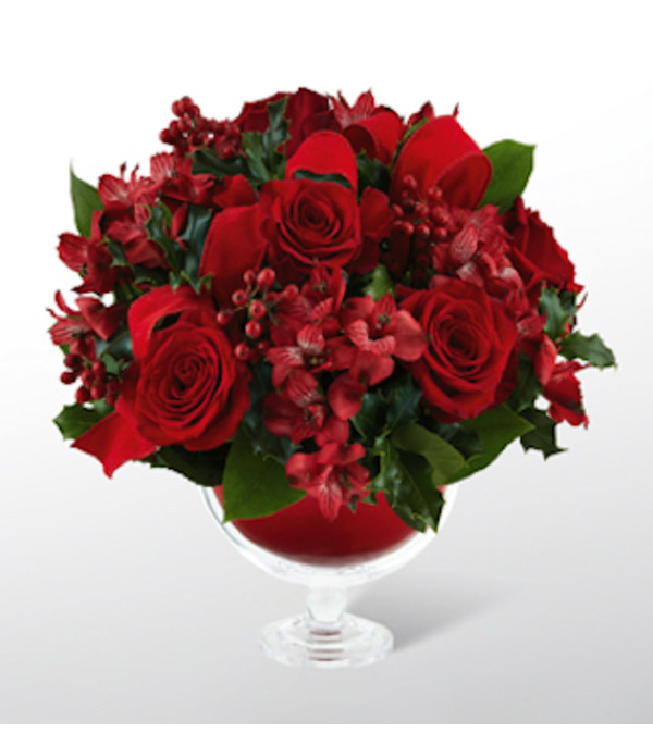 Holiday Peace Rose Bouquet