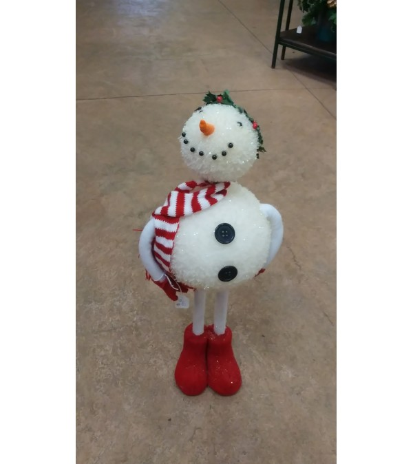 Large Bobble Head Snowman