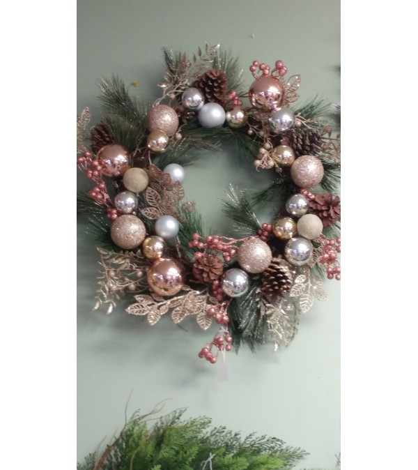 Copper & Bronze Wreath